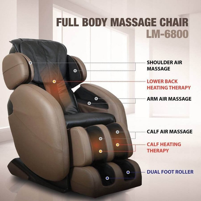Full body L Track Kahuna Massage Chair