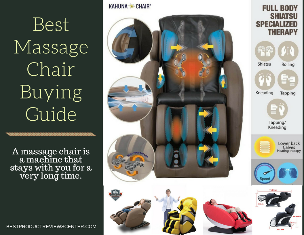 Full-Body Massage Chairs