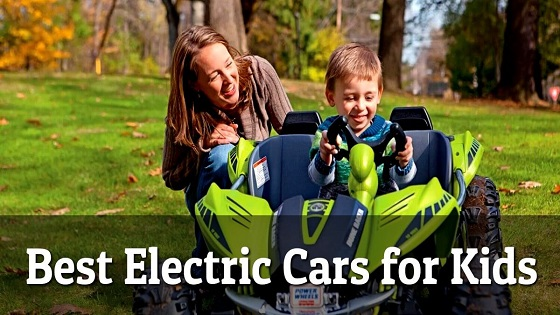 Top 10 Best Electric Cars For Kids Reviews & Buyer Guide of 2018